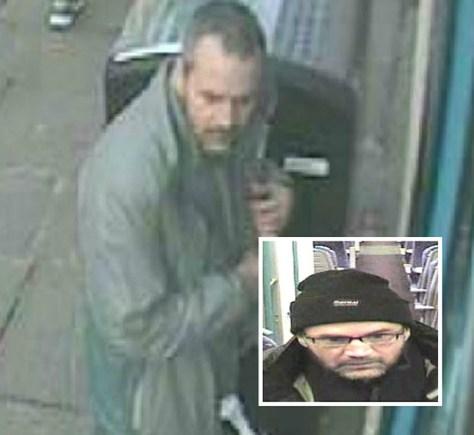 CCTV sightings of Ivan Leach aka Lee Cyrus on the run.
