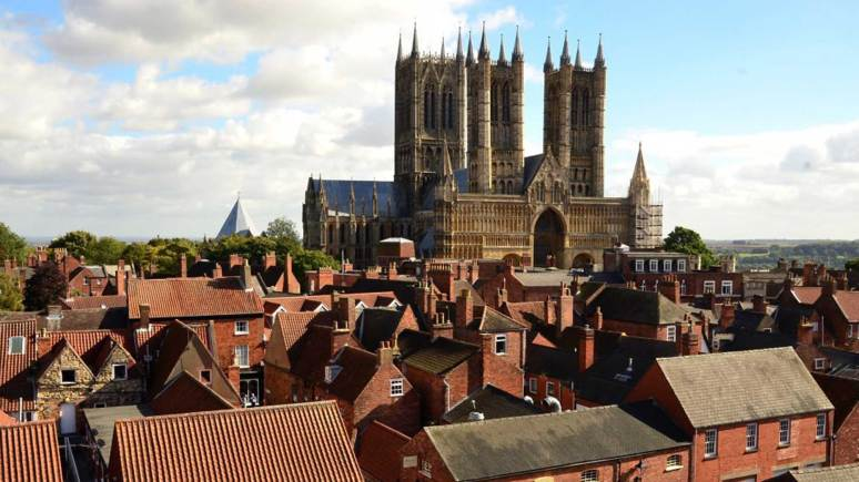 The cathedral is just one of Lincoln's treasures featured in the video.  Photo: Steve Smailes for The Lincolnite