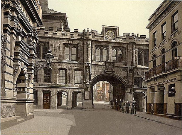 Stonebow in 1890.