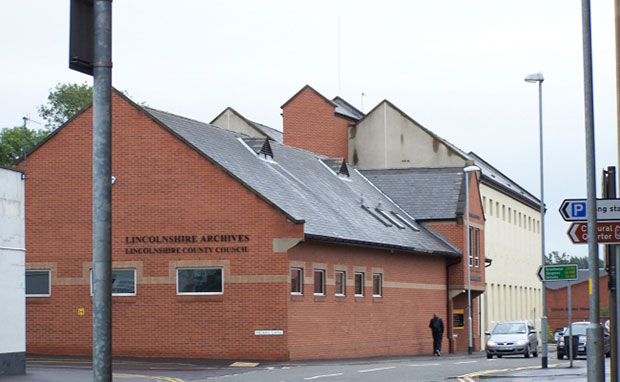 The Lincolnshire Archives on Friar's Lane in Lincoln. Photo: Lincolnshire Heritage Forum
