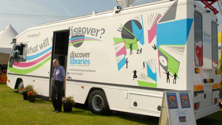 Under Lincolnshire County Council proposals, mobile library services would replace rural libraries across the county.