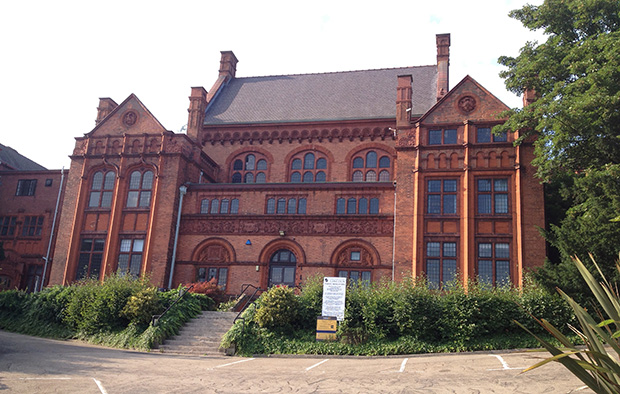 The Greestone Centre off Lindum Road in Lincoln, used to house the university's art department.