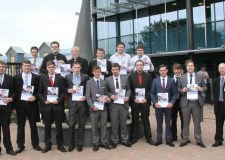 Pre-Employment Scheme 2013 group with Paul Wicklen (right) from Lincoln College
