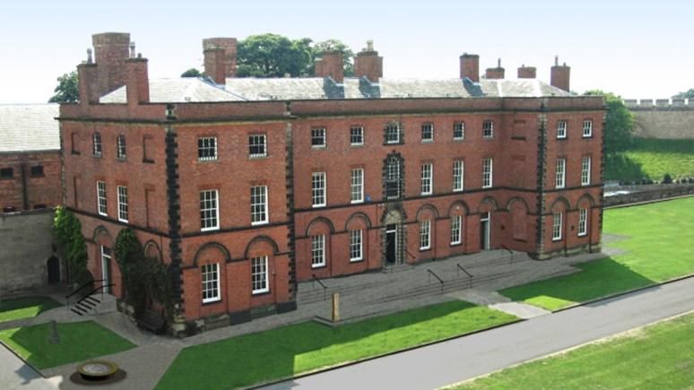 The Grade II Georgian and Victorian Prison buildings at Lincoln Castle
