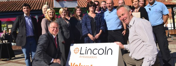 Lincoln Ambassadors Scheme launched inviting residents to promote the city. Photo: Steve Smailes for The Lincolnite