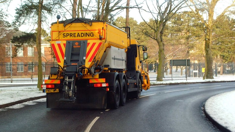 Lincolnshire Gritter teams prepare for winter weather precautions.