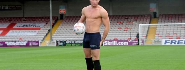 Alex Thompson posing at Lincoln City Football Club. Photo: Stuart Wilde
