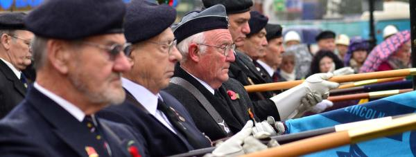 Remembrance Service November 11. Photo: Steve Smailes