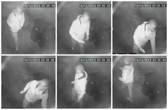 CCTV stills: Kraeg Davis. Compilation: The Lincolnite