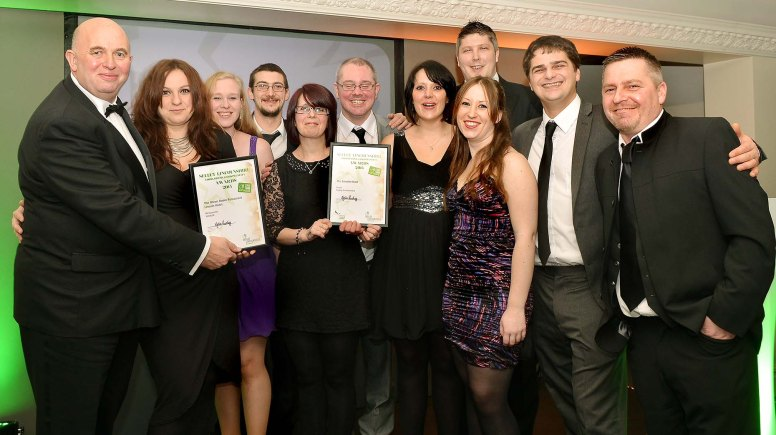 The Green Room at The Lincoln Hotel - Restaurant & Hotel of the year. Photo: Lincolnshire Chamber of Commerce