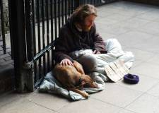 beggar begging