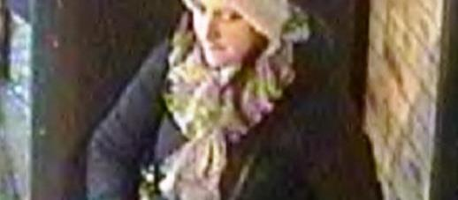 Police would like to trace this woman in relation to a laptop theft incident. Photo: BTP