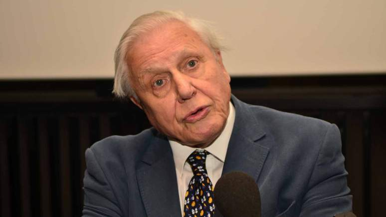 Sir David Attenborough at The Collection in Lincoln. Photo: Steve Smailes for The Lincolnite