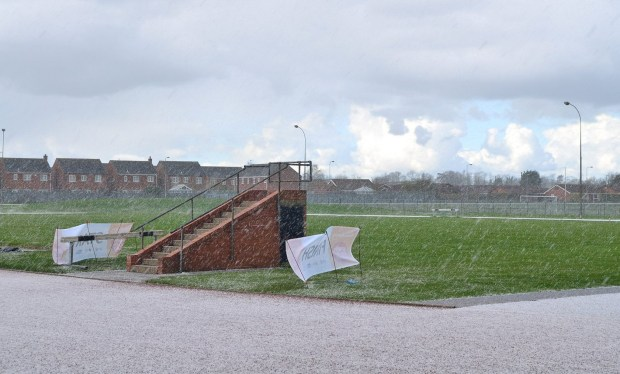 The run was briefly interrupted by severe hail storms. Photo: Steve Smailes for The Lincolnite