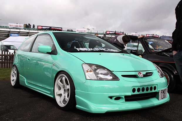 Simon Lynn's modded Civic Type R might have caught Keith's eye, but he still couldn't bring himself to own one.