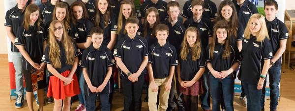 A number of the Lincolnshire athletes receiving funding this year. Photo: Lincolnshire Sports Partnership
