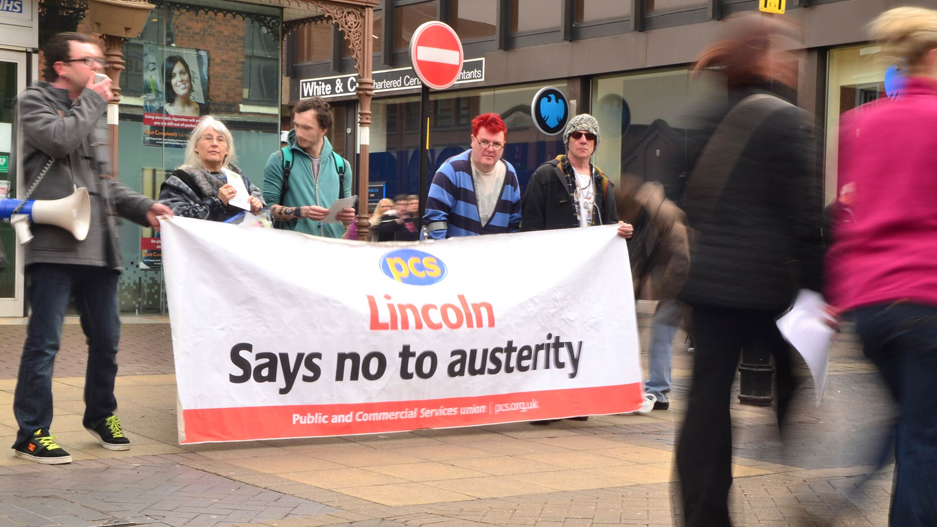 Anti-austerity protest set to L A Reptiles Grantham