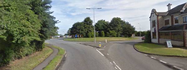 A15, Ermine Street, Caneby Corner. Photo: Google Street View