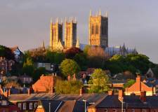 Lincoln Cathedral basking in the sunshine. Photo: File/The Lincolnite