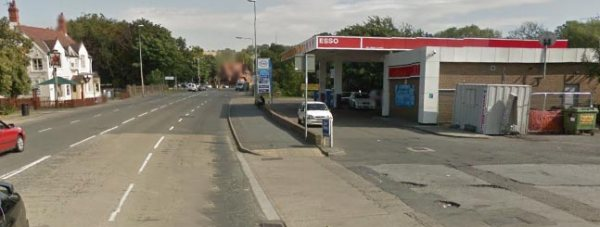 Newark Road near the Esso garage in Lincoln. Photo: Google Street View