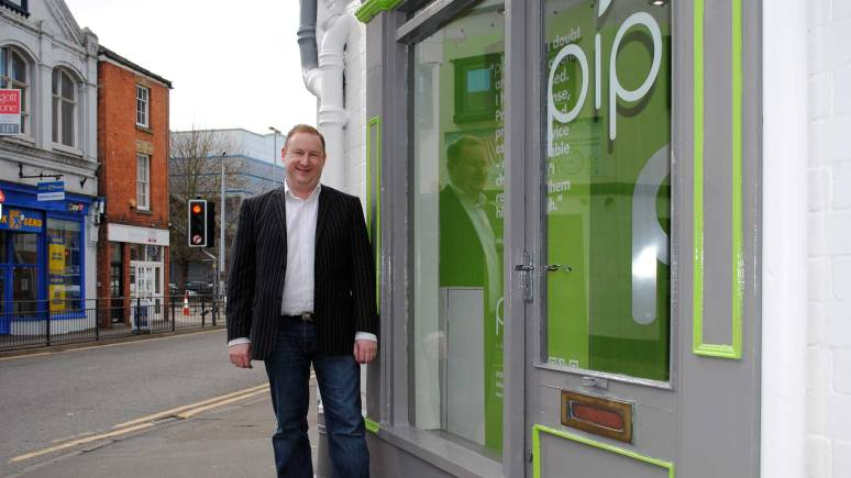 Property Group Director Michael Hollamby, outside the business' new city centre offices.