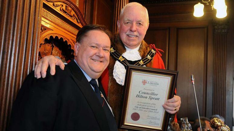 Councillor Hilton Spratt. Photo: CoLC