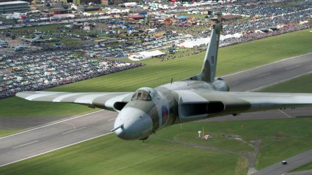 The Vulcan Bomber. Photo: Mark Arnold/RAF Waddington