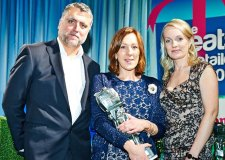 Follie and Follie Home owner Josie Rossington (Middle) won the 'Best Independent Gift Retailer for the Midlands and Wales. Photo: Eddie MacDonald