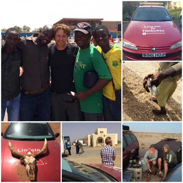 At the end of the gruelling trip, the car was donated to a local man at Mali airport. The pair are now planning an even bigger fundraising event for next year.