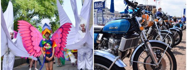 The Lincoln Festival & Carnival takes place on Sturday, June 14 and the Lincoln Bike Fest takes place on Sunday, June 15.