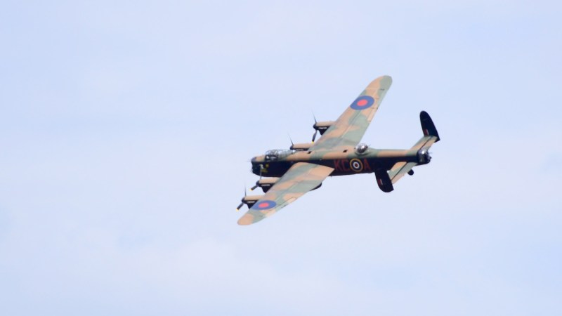 The Battle of Britain Memorial Flight is based at RAF Coningsby in Lincolnshire.