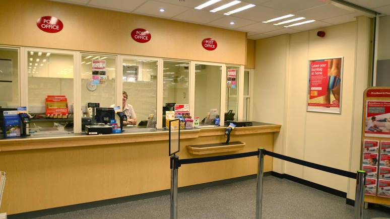 The Post Office inside the Boultham Park Road Co-op store in Lincoln. Photo: Steve Smailes/The Lincolnite