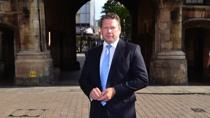 Lincoln MP Karl McCartney. Photo: Steve Smailes/The Lincolnite