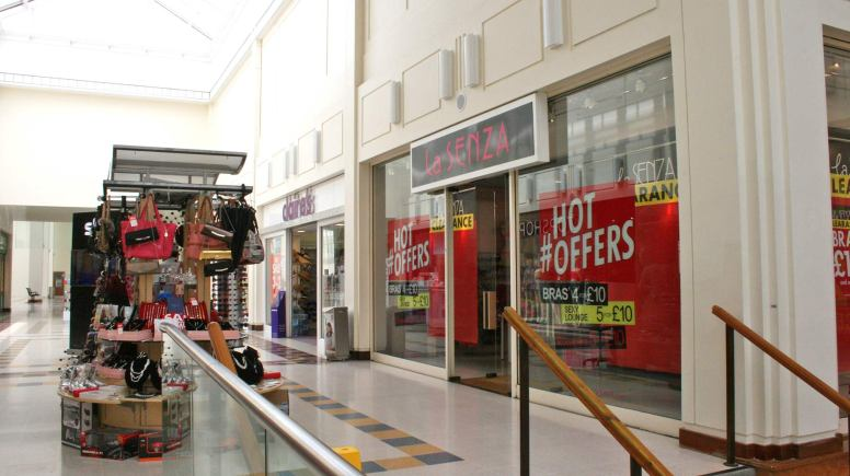 The Lincoln La Sanza store, located in the Waterside Shopping Centre. Photo/File: The Lincolnite