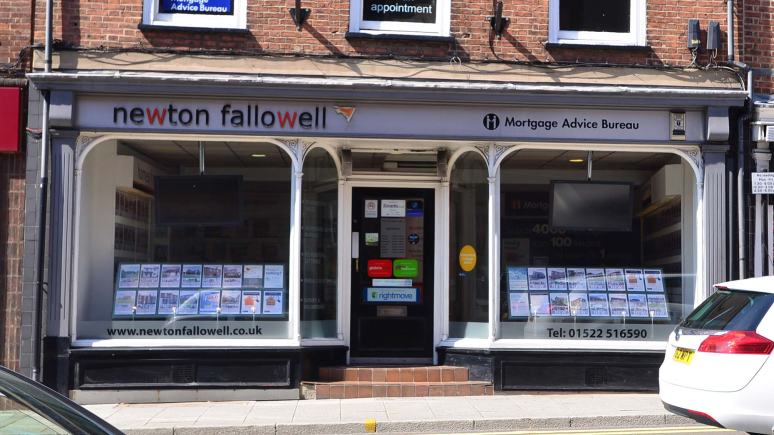 The Newton Fallowell offices on Silver Street in Lincoln. Photo: Steve Smailes/The Lincolnite