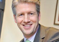 Tom Robinson, the new Simons Group CEO.