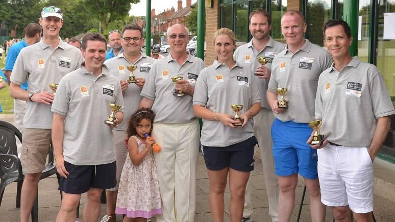 Winning Team, Bradford's Bonkers Belgians. Photo: Mick Fox