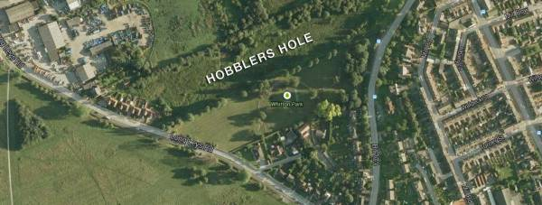 Hobblers Hole in Lincoln. Map: Google