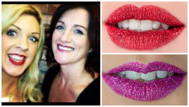 GlitterLips was invented by the pair, who run Bennetts in Lincoln.