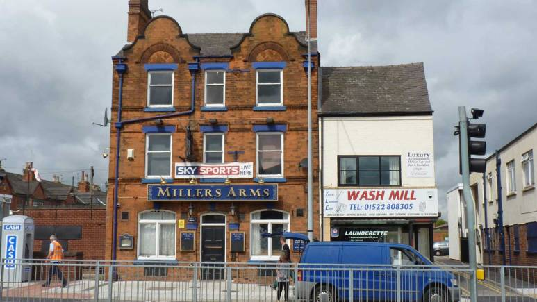 The Millers Arms pub on Lincoln High Street. Photo: Rendezvous/Google Places