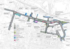 The Lincoln East West Link Road project. Illustration: LCC
