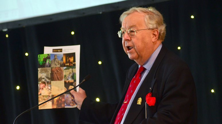 Lord Cormack of the History Lincoln Trust. Photo: Steve Smailes for The Lincolnite
