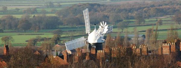 Ellis Mill is the only working windmill left in Lincoln. Volunteers are needed to keep it running. Photo: Paul Farmer