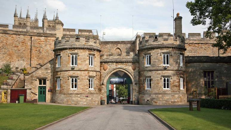 Lincoln Castle east gate, from inside the walls. Photo: File/The Lincolnite
