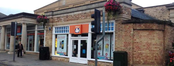 The Phones4U store on Lincoln High Street is closed, for now. Photo: Chris Brandrick