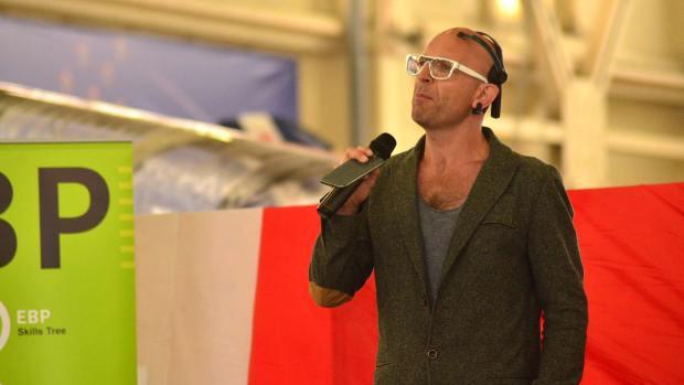 Gadget Show's Jason Bradbury. Photo: Steve Smailes for The Lincolnite