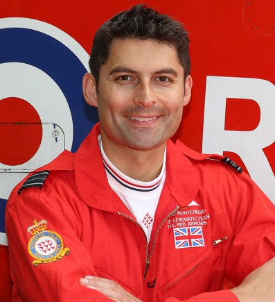 Squadron Leader David Montenegro (Red 1)