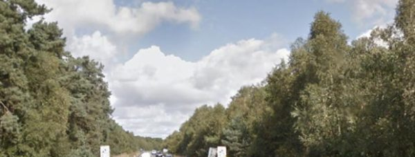 A46 Bypass, between Doddington and Skellingthorpe roundabouts. Photo: Google Streetview