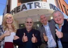Emily Childs, Cannon & Ball and Steve Barclays. Photo: Steve Smailes for The Lincolnite