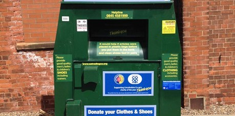 Some 50 tonnes of unwanted clothing was donated in aid of the Alzheimer's charity.